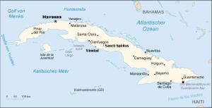 Kuba_karte