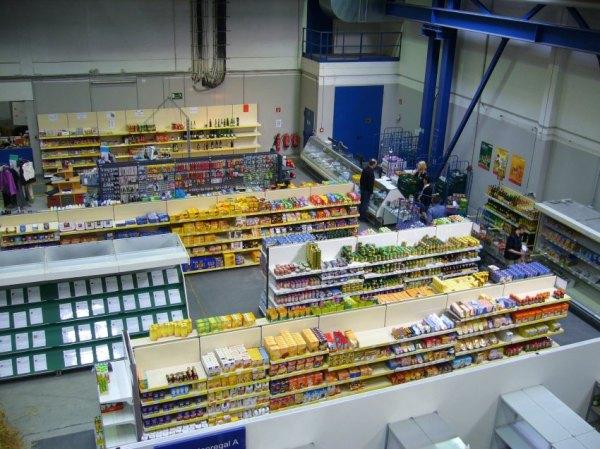 Arbeitslosen-Supermarkt