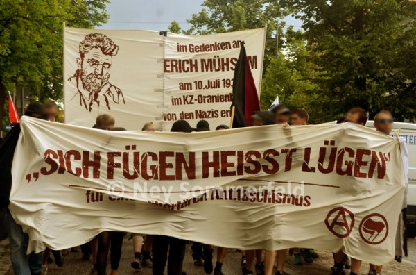 Erich-Mühsam-Demo