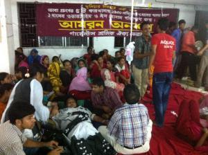 Hungerstreik bei Tuba gruppe 30.7.2014