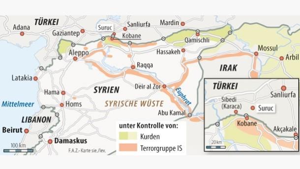 Shingal Irak Karte.Blick Nach Kobane Reisebericht Eines Aktivisten Der Karakök