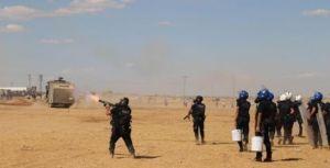 türkisches militär gegen Rojava