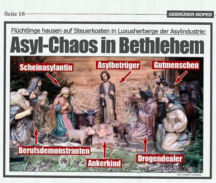 Weihnachten: ein Blick von Unten | Die Wurfbude. Würfe und Entwürfe.