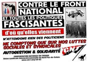 affiche-cnt-nord-pdc-contre-fn-et-toutes-politiques-fascisantes