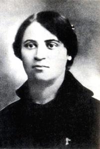 Anarchistin und Gefährtin Machnos: Die Lehrerin Galina Agafja Andrejewna Kusmenko.